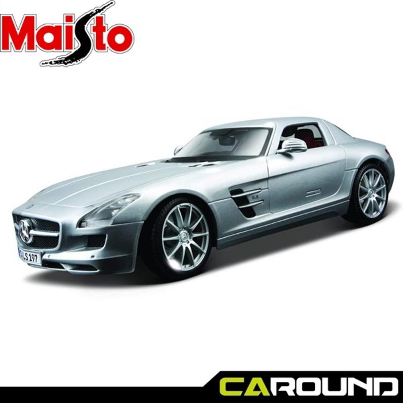 마이스토 1 18 메르세데스 벤츠 Sls Amg 실버 Mercedes Benz